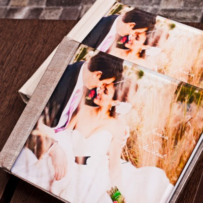 Coffee Table Book with Acrylic PhotoCover